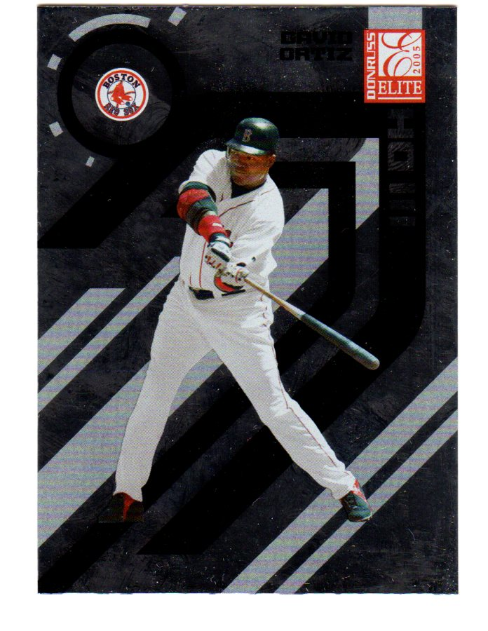 2005 Donruss Elite #25 David Ortiz