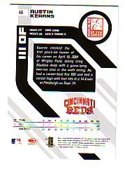 2005 Donruss Elite #48 Austin Kearns back image