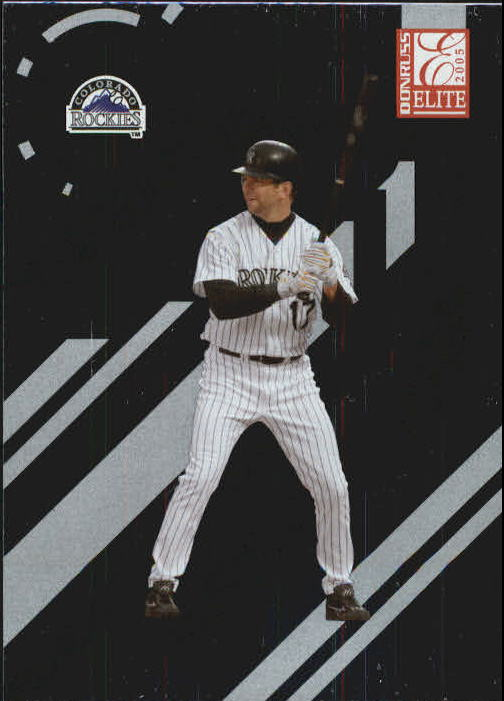 2005 Donruss Elite #58 Todd Helton