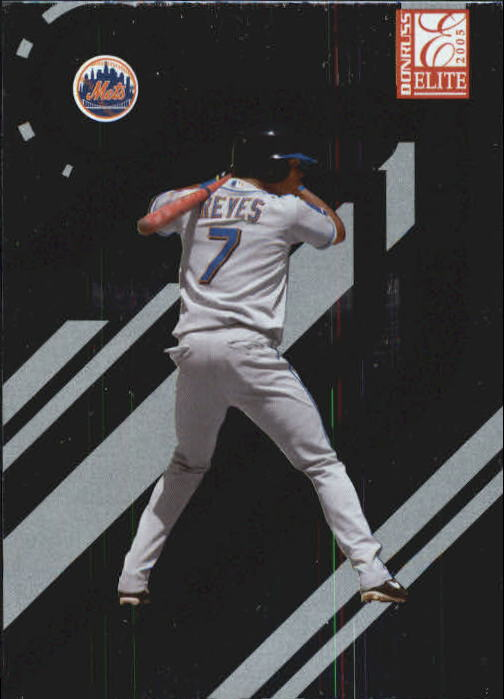 2005 Donruss Elite #93 Jose Reyes