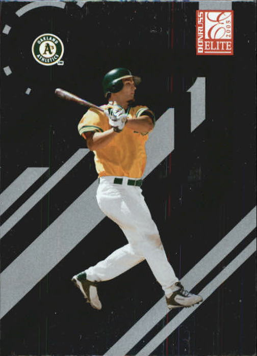 2005 Donruss Elite #107 Eric Chavez