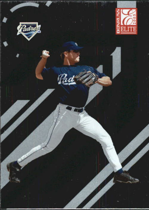 2005 Donruss Elite #121 Sean Burroughs