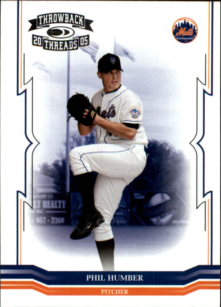 2005 Throwback Threads #90 Phil Humber RC