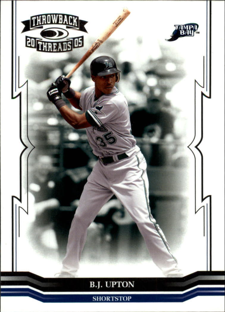 2005 Throwback Threads #158 B.J. Upton