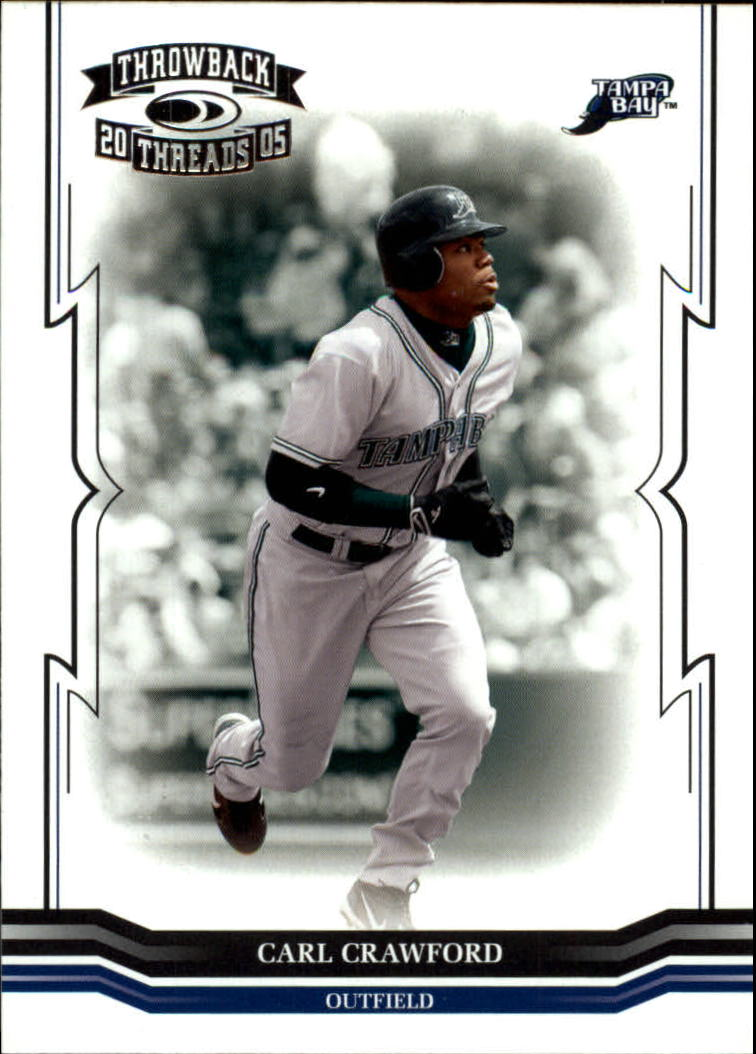 2005 Throwback Threads #163 Carl Crawford