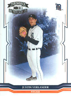 2005 Throwback Threads #213 Justin Verlander RC