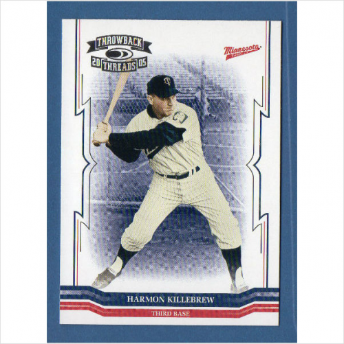 2005 Throwback Threads #285 Harmon Killebrew RET