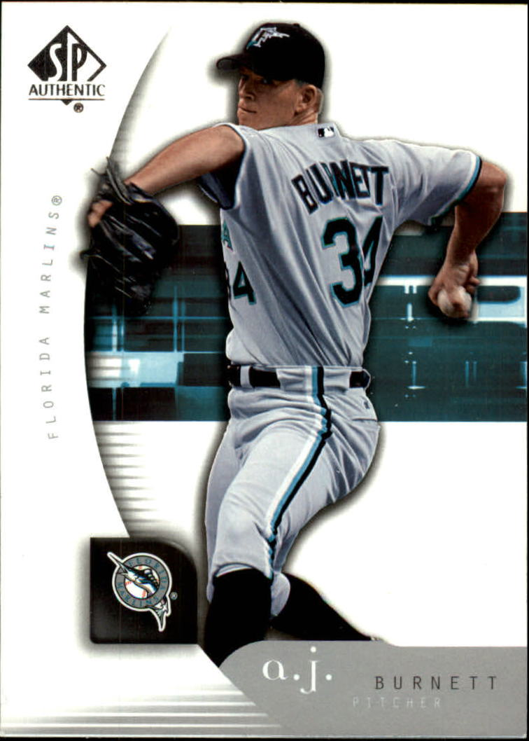 2005 SP Authentic #1 A.J. Burnett