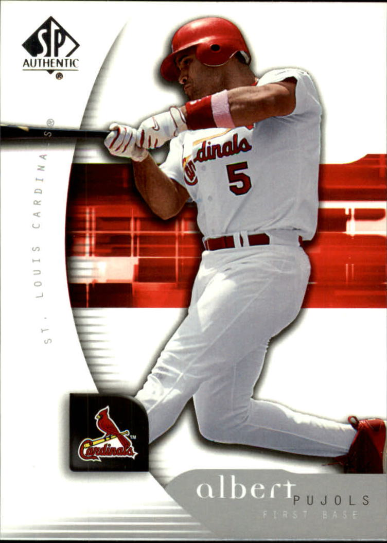 2005 SP Authentic #7 Albert Pujols