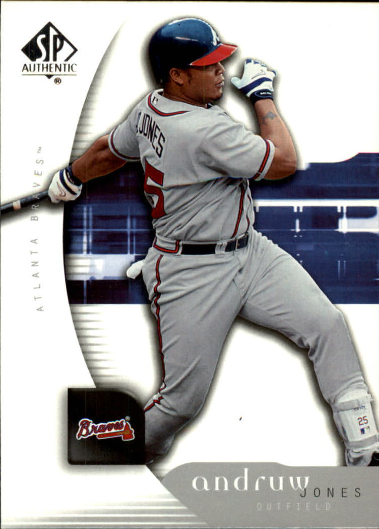 2005 SP Authentic #9 Andruw Jones