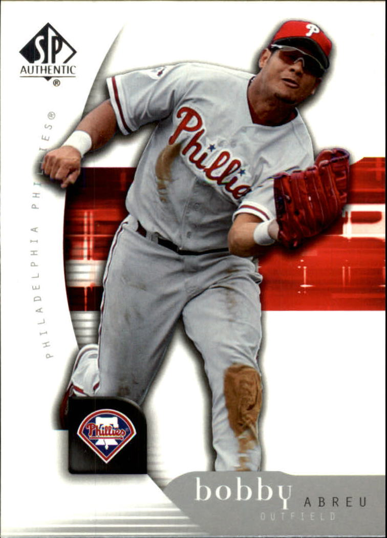 2005 SP Authentic #14 Bobby Abreu