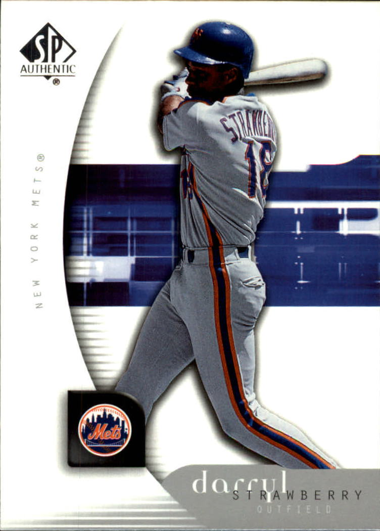 2005 SP Authentic #28 Darryl Strawberry