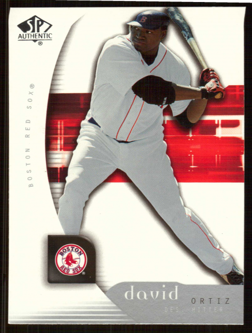 2005 SP Authentic #29 David Ortiz