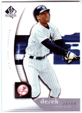 2005 SP Authentic #31 Derek Jeter
