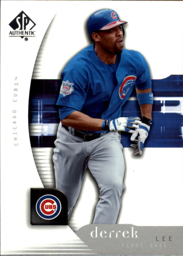 2005 SP Authentic #32 Derrek Lee