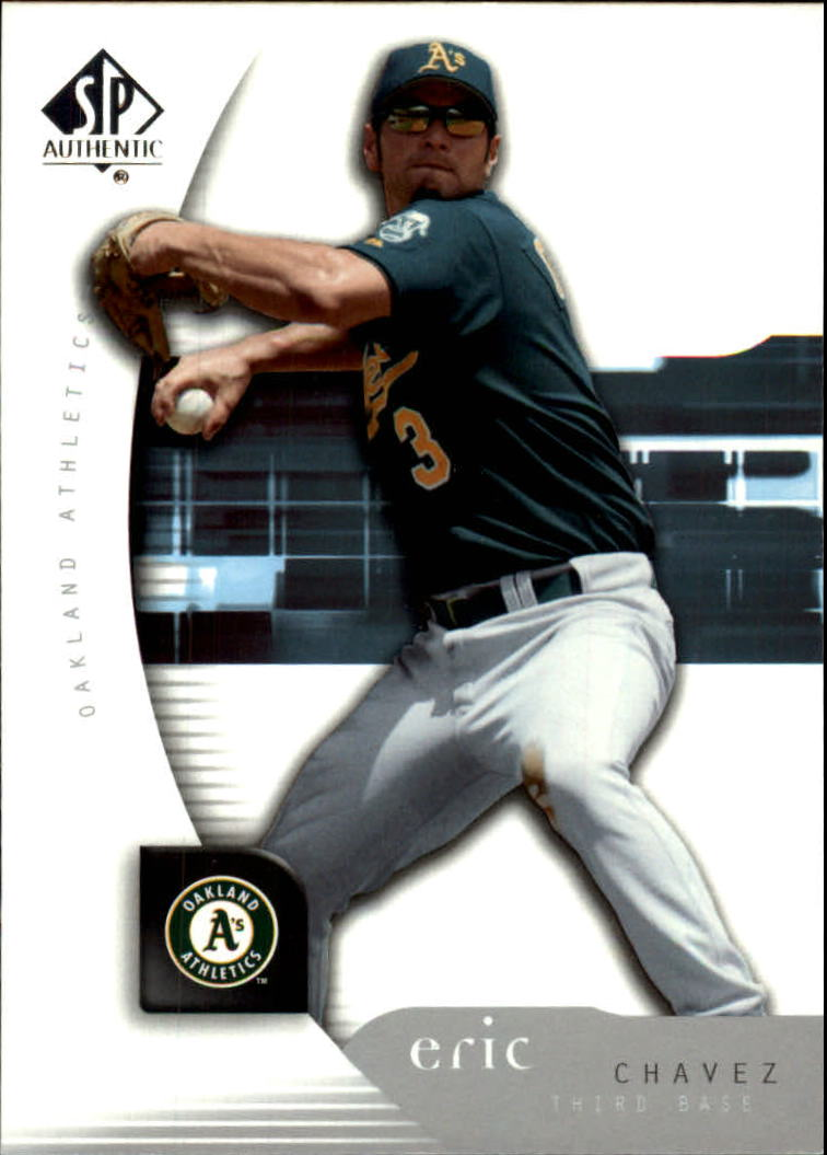 2005 SP Authentic #36 Eric Chavez