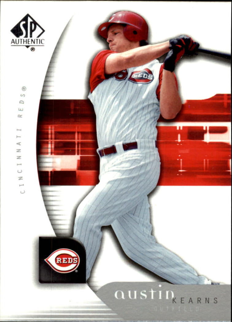 2005 SP Authentic #48 Austin Kearns