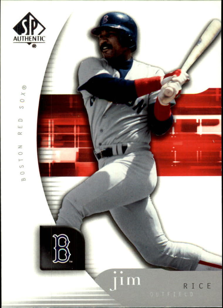 2005 SP Authentic #50 Jim Rice