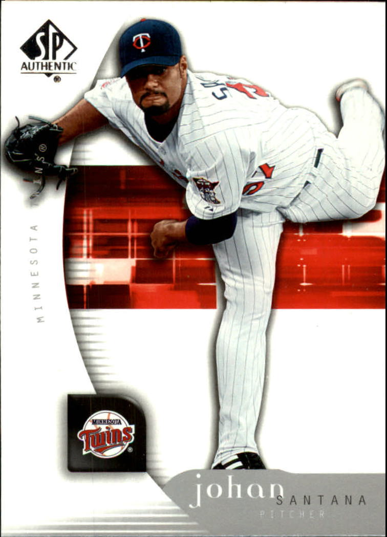 2005 SP Authentic #54 Johan Santana