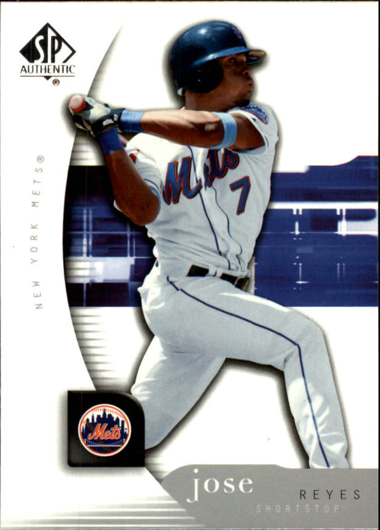 2005 SP Authentic #57 Jose Reyes