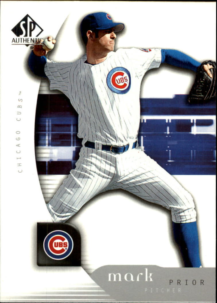 2005 SP Authentic #65 Mark Prior