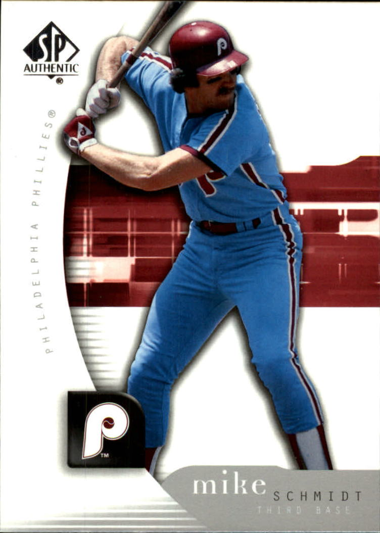 2005 SP Authentic #72 Mike Schmidt