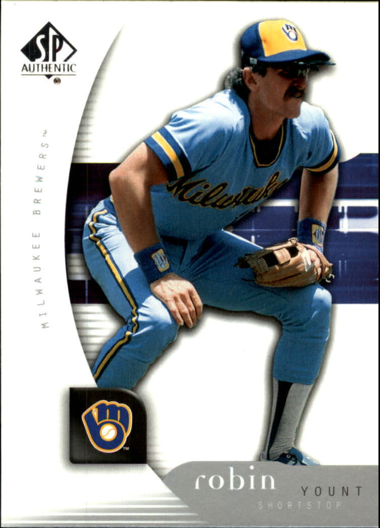 2005 SP Authentic #82 Robin Yount