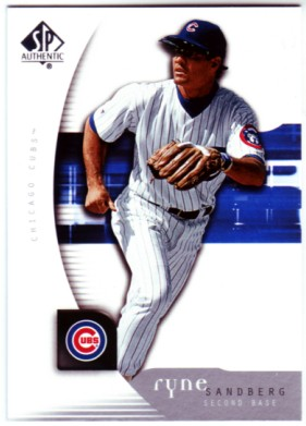 2005 SP Authentic #86 Ryne Sandberg
