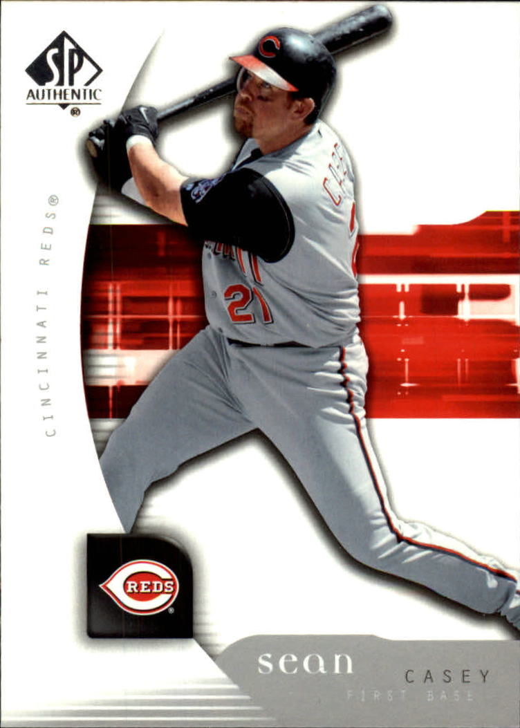 2005 SP Authentic #90 Sean Casey
