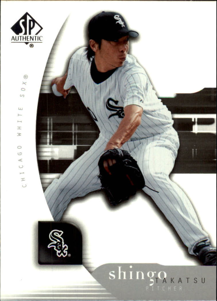 2005 SP Authentic #91 Shingo Takatsu