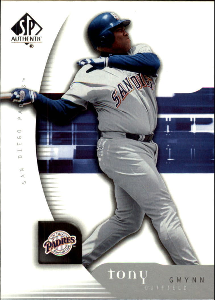 2005 SP Authentic #93 Tony Gwynn