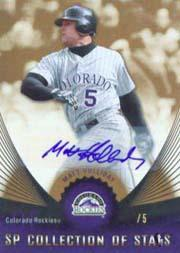 2005 SP Collection of Stars Signature #MH Matt Holliday
