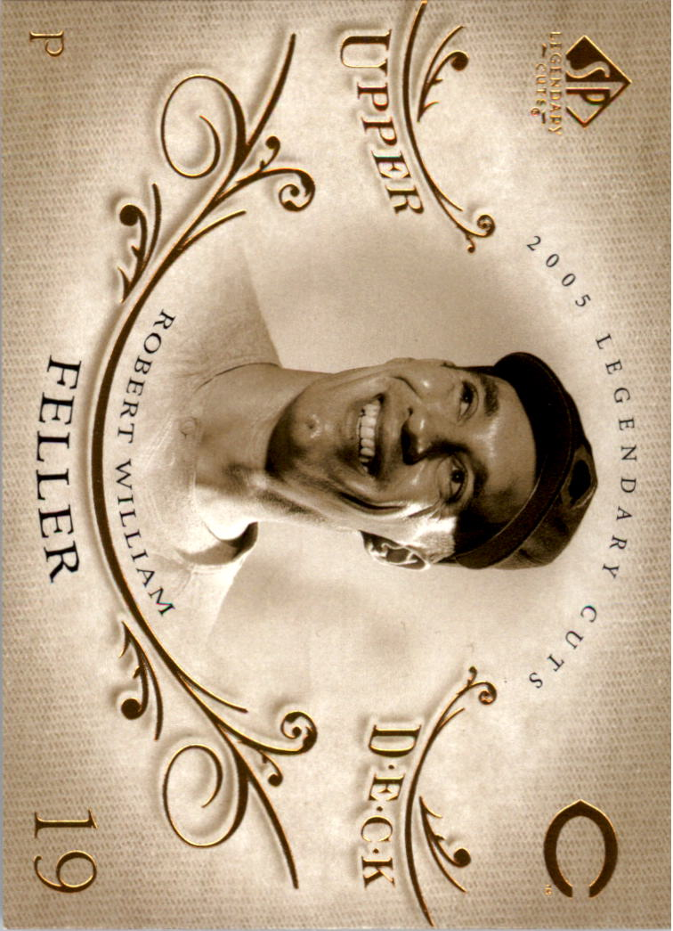 2005 SP Legendary Cuts #5 Bob Feller