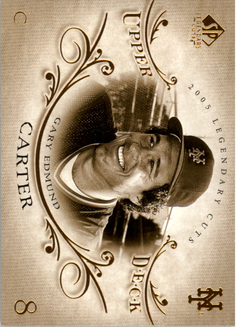 2005 SP Legendary Cuts #28 Gary Carter