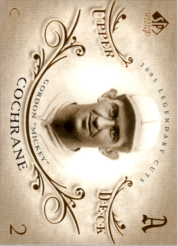2005 SP Legendary Cuts #53 Mickey Cochrane