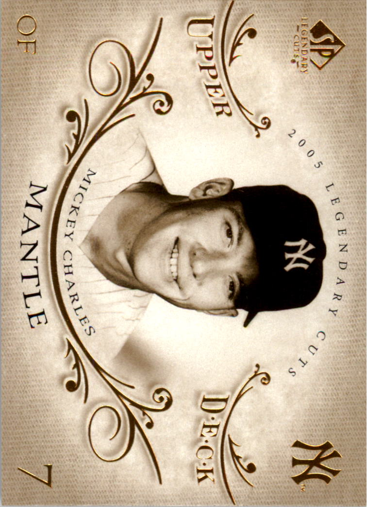2005 SP Legendary Cuts #54 Mickey Mantle