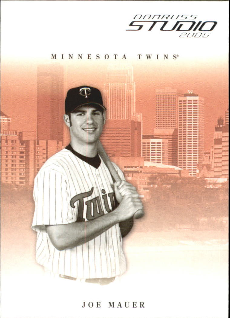 2005 Studio #169 Joe Mauer