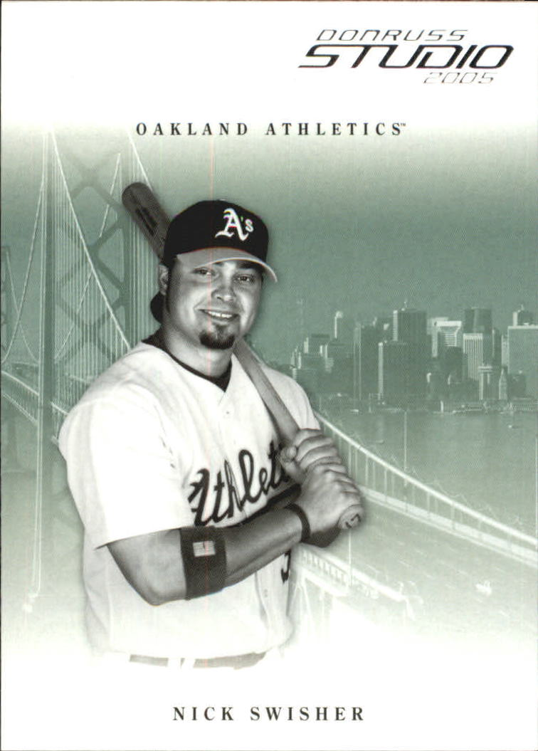 2005 Studio #208 Nick Swisher