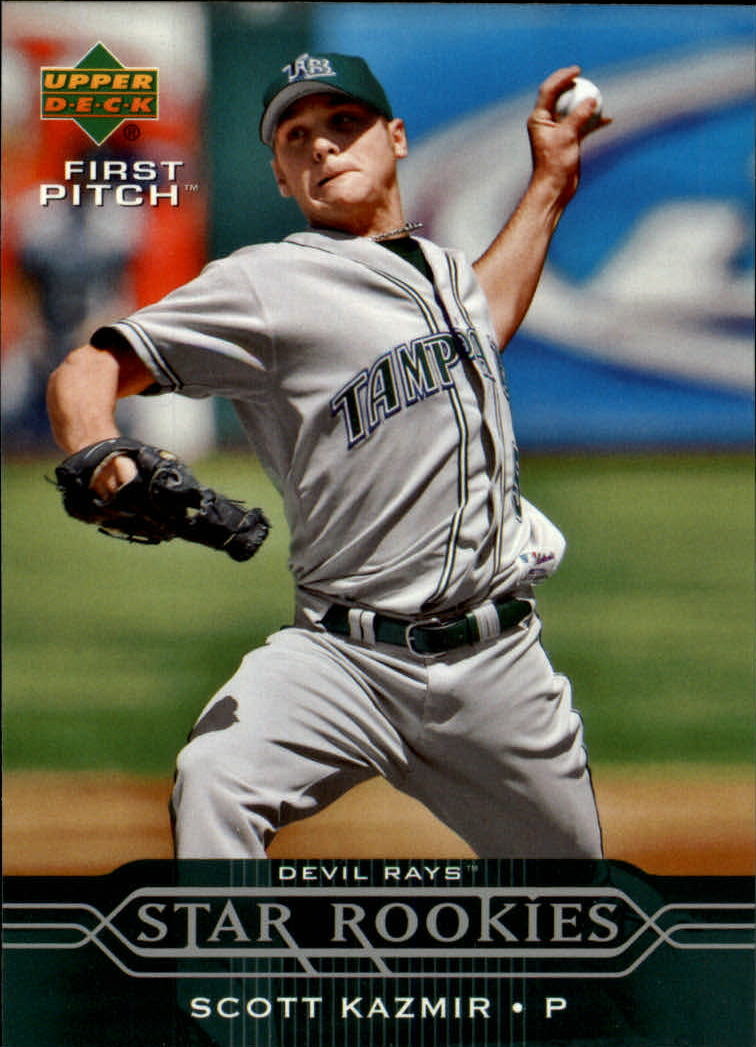 2005 Upper Deck First Pitch #260 Scott Kazmir SR