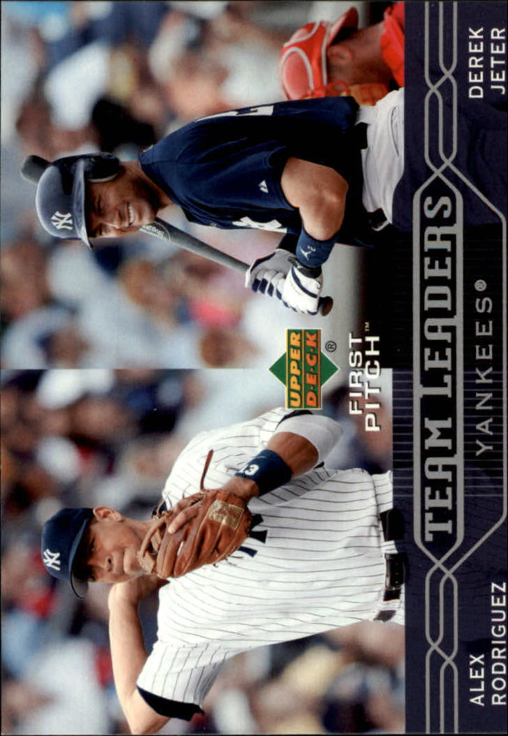 2005 Upper Deck First Pitch #280 A.Rodriguez/D.Jeter TL