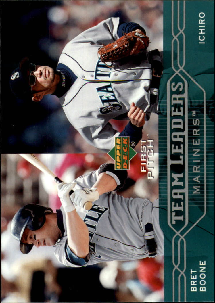 2005 Upper Deck First Pitch #286 B.Boone/I.Suzuki TL