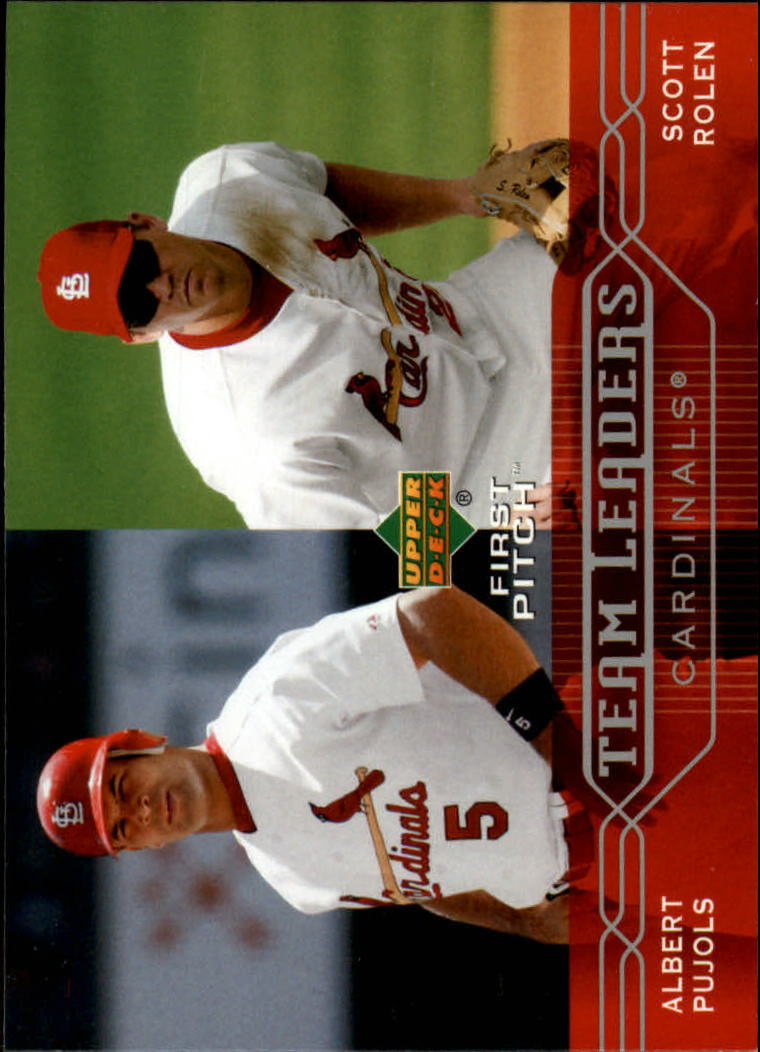 2005 Upper Deck First Pitch #287 A.Pujols/S.Rolen TL
