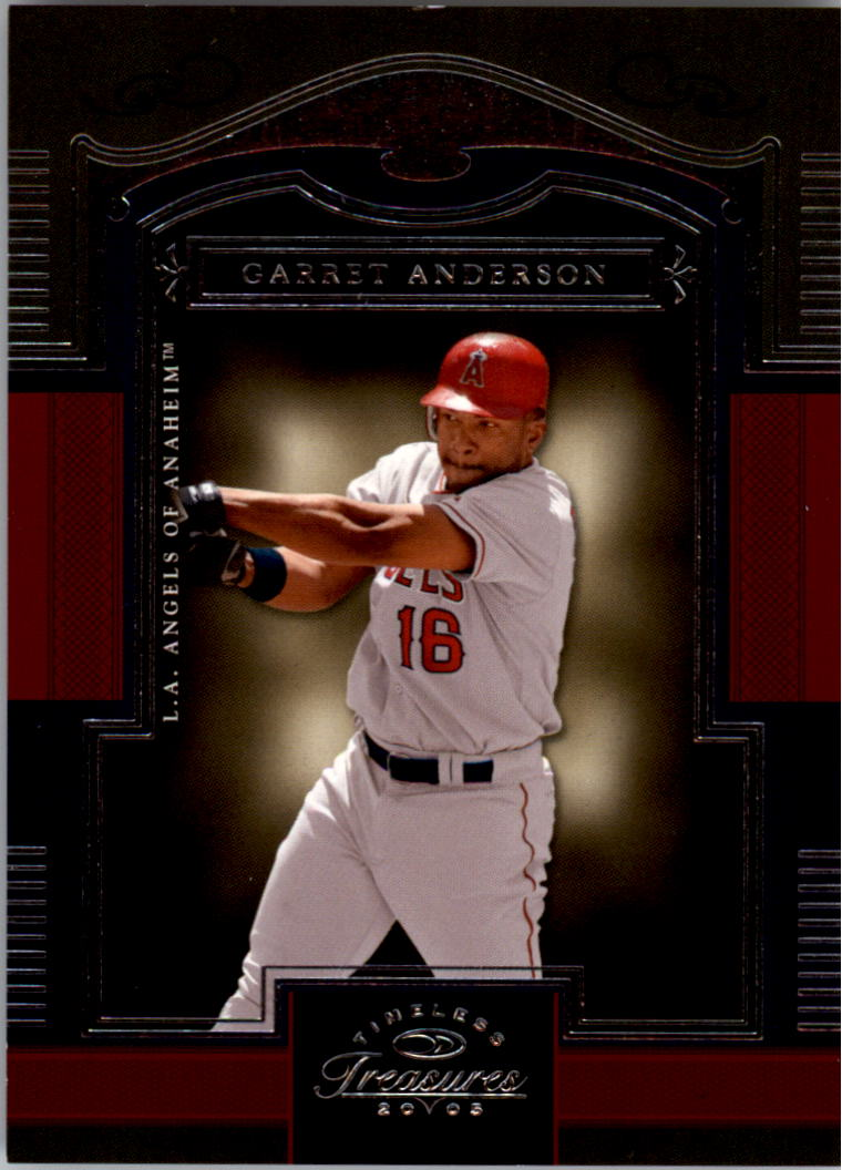 2005 Timeless Treasures #16 Garret Anderson