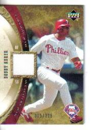 2005 Artifacts AL/NL Artifacts #BA Bobby Abreu Jsy/325