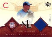 2005 Artifacts AL/NL Artifacts #CZ Carlos Zambrano Jsy/325