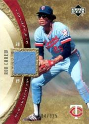 2005 Artifacts AL/NL Artifacts #RCA Rod Carew Jsy/325