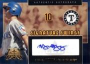 2005 National Pastime Signature Swings Gold #MY Michael Young/100