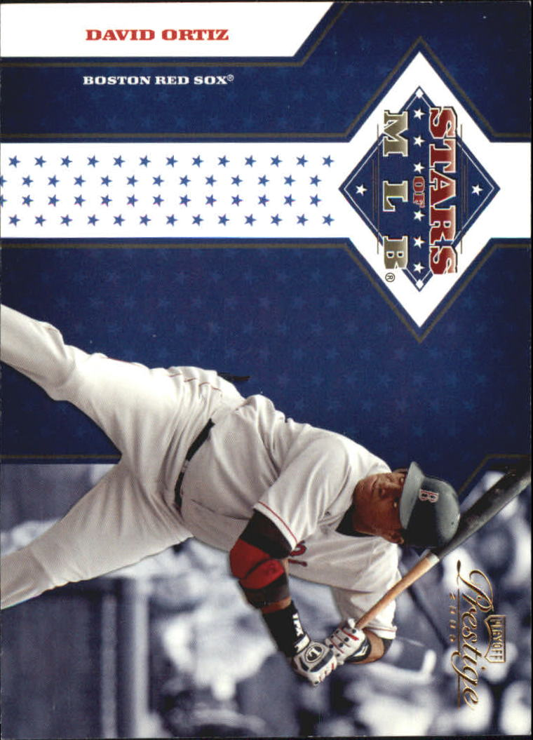 2005 Playoff Prestige Stars of MLB #9 David Ortiz