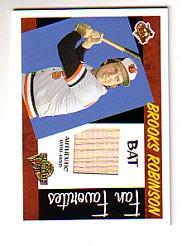 2005 Topps All-Time Fan Favorites Relics #BR Brooks Robinson Bat D/350