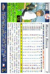 2005 Topps Chrome #118 Mariano Rivera back image